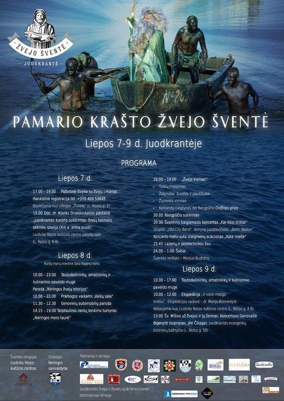 Pamario krašto žvejo šventė Juodkrantėje