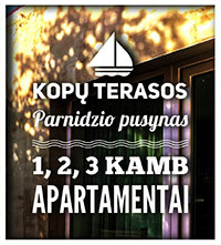 "Apartments for rent in Nida ""Kopų terasos"""