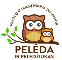 "Holzhäuser in Sventoji  ""Owl and Owlet"""
