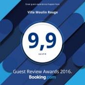 Villa Moulin Rouge: lauko terasa, jacuzzi, paplūdimio gultai.