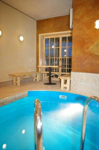 """Pirtis, baseinas, grožio procedūros viešbutyje """"Pajūrio sodyba"""""""