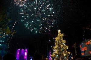 Kalėdų eglutė Palangoje 2019