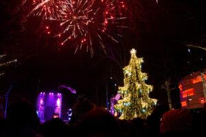 Kalėdų Eglutė ir fejerverkas Palangoje