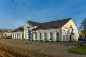 Kretingos geležinkelio stotis