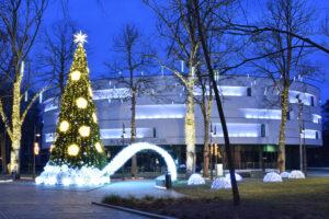 Kalėdinė Eglutė Palangoje
