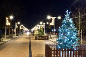 Kalėdinė Basanavičiaus gatvė