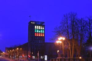 Lietuvos vėliava languose