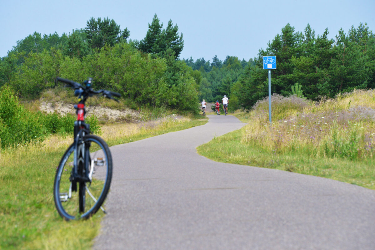 Nemirsetos dviračių takas