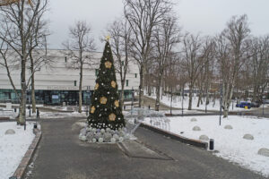 Kalėdų Eglutė prie Palangos Koncertų salės