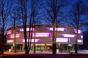 Koncertų salė vakare