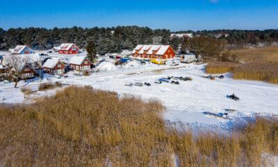 Baltos žiemos pramogos Nidoje (galerija)