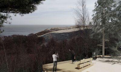 Atnaujinama Parnidžio kopos lankymo infrastruktūra
