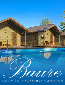Baure holiday cottages Palanga