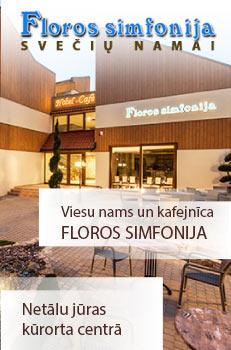 Viesu nams - kafejnīca Floros simfonija
