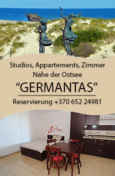 Ferienhaus in Sventoji Germantas