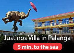 Justinos villa Palanga