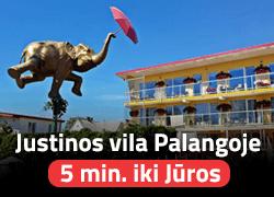 Justinos vila Palangoje