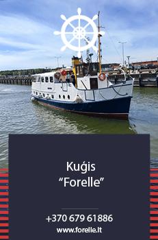 Kuģa īre Forelle