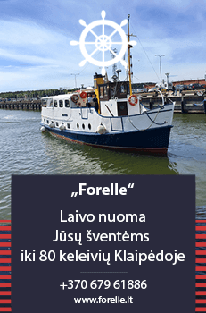 Laivo nuoma Forelle