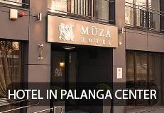 Hotel Mūza in Palanga