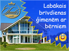 Villa pie Baltijas jūras