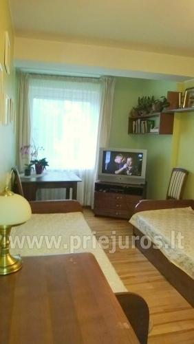 Nuomojamas dviejų kambarių butas su kiemeliu Juodkrantėje - 4