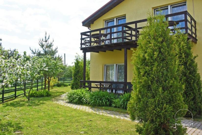 Rooms and wooden houses for rent in Sventoji  ZUVEDROS - 20