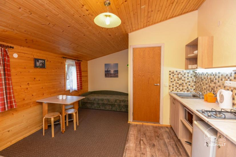 Rooms and wooden houses for rent in Sventoji  ZUVEDROS - 11