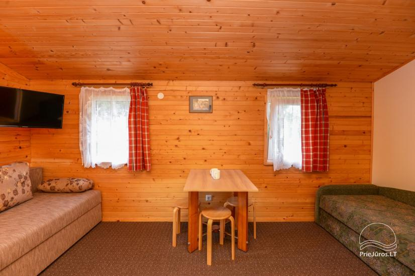 Rooms and wooden houses for rent in Sventoji  ZUVEDROS - 14