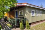 Rooms and wooden houses for rent in Sventoji  ZUVEDROS