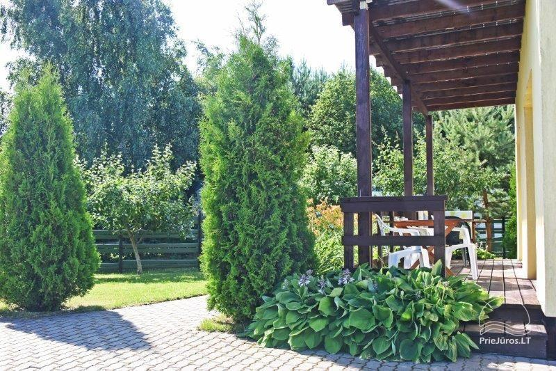 Rooms and wooden houses for rent in Sventoji  ZUVEDROS - 24
