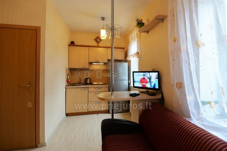 Dzīvokļa īre Nidā. Pirmais stāvs, terase - 9