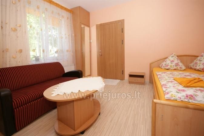 Apartment for rent in the very center of Nida. The ground floor, terrace - 7
