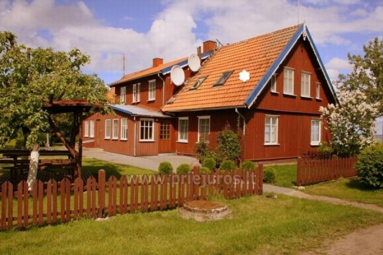 Rooms and flats with the view to the lagoon for rent in Curonian Spit - 1