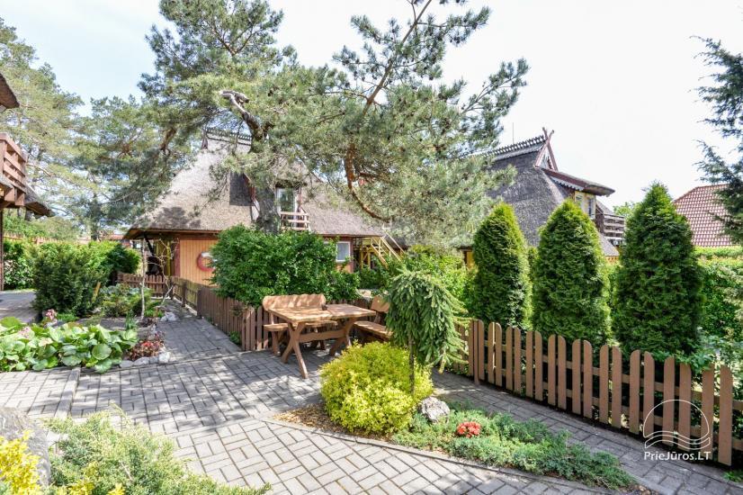 VILA DEVA Pervalkā: Numuri ar virtuvi, labierīcībām, terasēm, atsevišķām ieejām; ekskluzīvs pagalms - 10