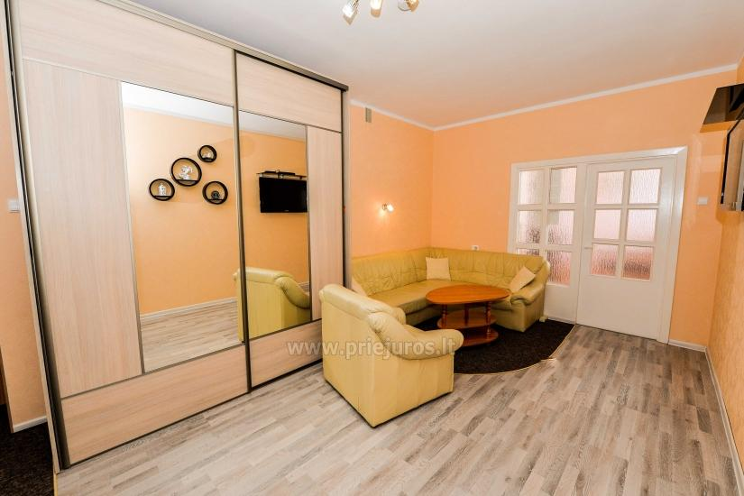 Spacious two rooms apartment with balcony in the center of Nida - 4