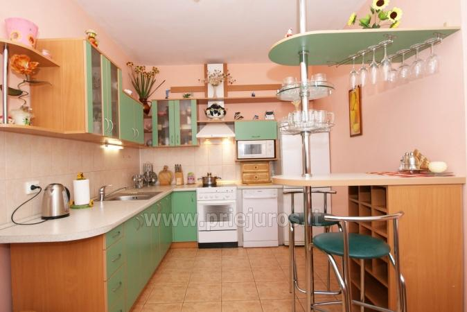 Spacious two rooms apartment with balcony in the center of Nida - 3