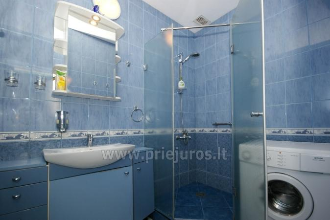 Spacious two rooms apartment with balcony in the center of Nida - 10
