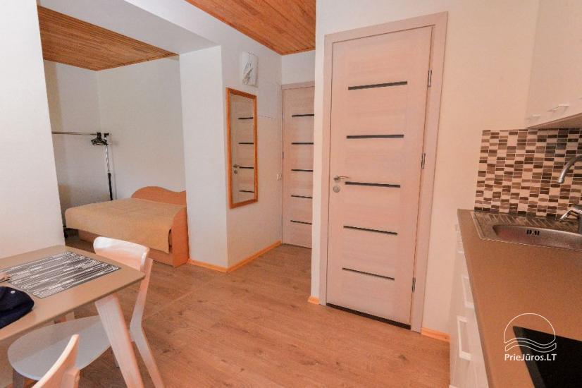 New triple apartment in Nida center, Taikos street 28