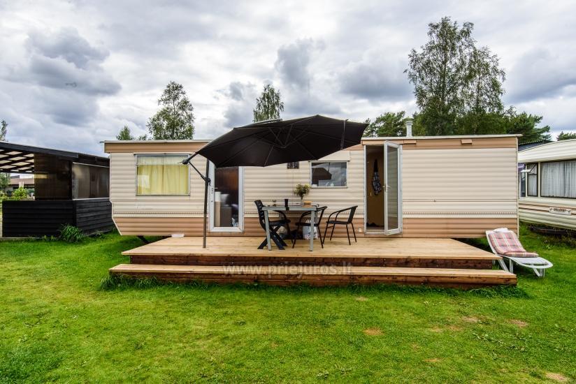 Atpūta Palangā - koka namiņi, kempings, teltis (No 5 € / personu grupām) - 20