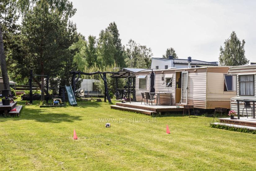 Atpūta Palangā - koka namiņi, kempings, teltis (No 5 € / personu grupām) - 21