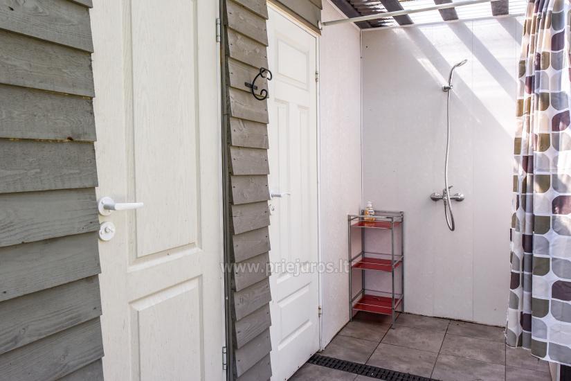 Atpūta Palangā - koka namiņi, kempings, teltis (No 5 € / personu grupām) - 16