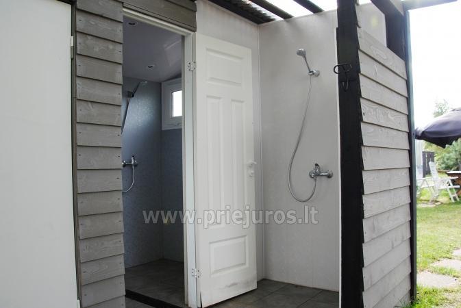 Atpūta Palangā - koka namiņi, kempings, teltis (No 5 € / personu grupām) - 18