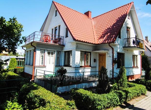 Kambarių ir buto nuoma Palangoje privačiame name Baltas namas - 1
