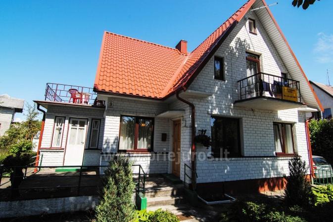 Kambarių ir buto nuoma Palangoje privačiame name Baltas namas - 11