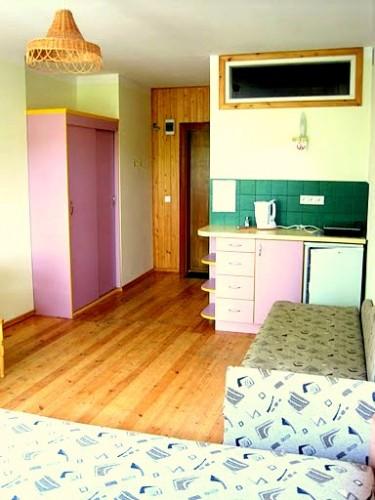Vieno kambario butai