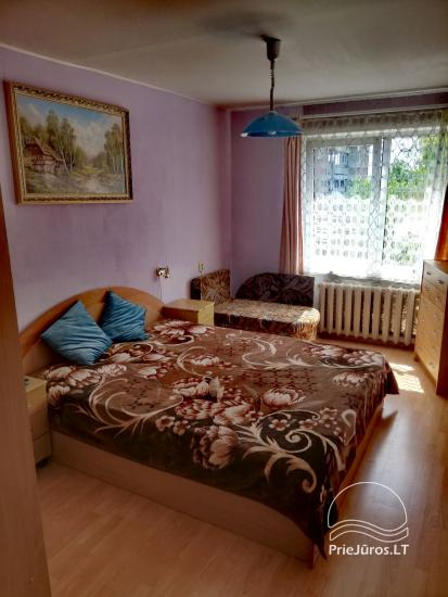 Dviejų kambarių buto nuoma pajūryje Šventojoje - 1