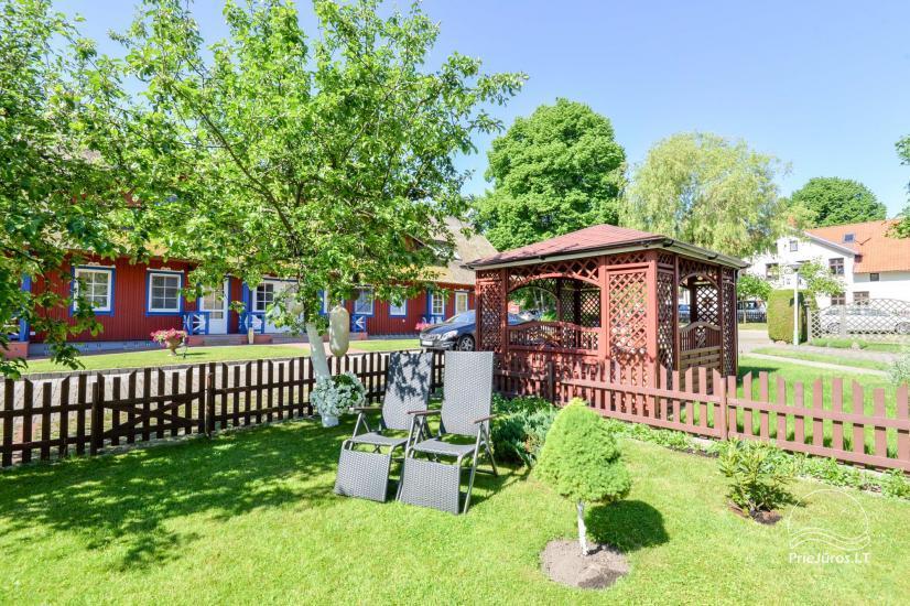 Gästehaus Nidos burė auf dem Kurischen Haff in Nida - 4