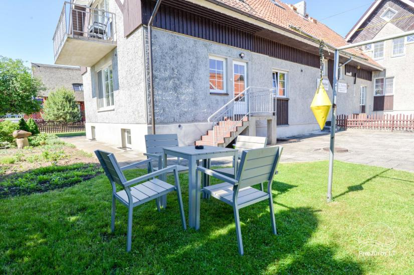 Gästehaus Nidos burė auf dem Kurischen Haff in Nida - 8