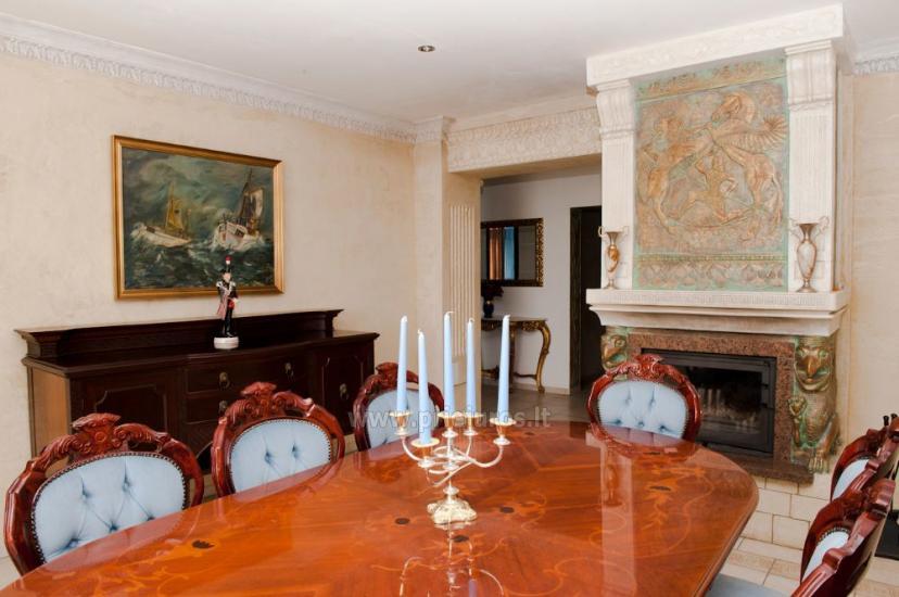 Dzīvokļu un istabu ire Palangā privātajā viesu namā COLUMBA LIVIA - 1